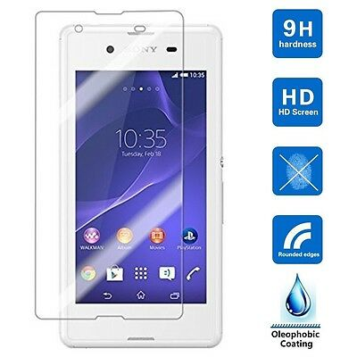 【1/2Pks】 HD Premium Tempered Glass Screen Protector for Sony Xperia Z2