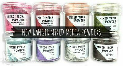 Ranger Mixed Media Powders 20 g jar - Choose from 8 Colours