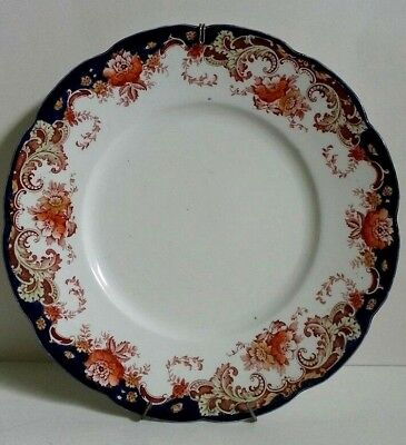 Bishop & Stonier Imperial Semi Porcelain Plate Repton,Made In England Wall Decor