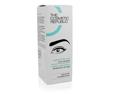 Natural brows the cosmetic republic cejas naturales castaño medio