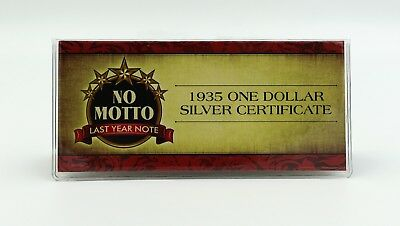 American Coin Treasures No Motto 1935 $1 One Dollar Silver Certificate