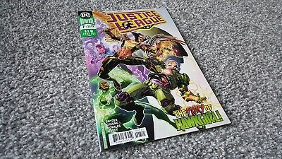 JUSTICE LEAGUE #7 Cvr A (2018) NEW DC UNIVERSE SERIES
