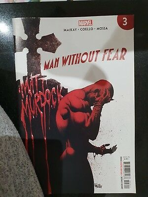 MAN WITHOUT FEAR #4 (OF 5) (2019) 1ST PRINTING KYLE HOTZ MARVEL. New, with b&b