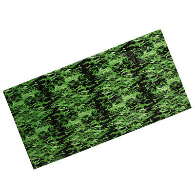 PVA Film 0.5 x 2m Dipping Hydrographics Water Transfer Printing Green Flame