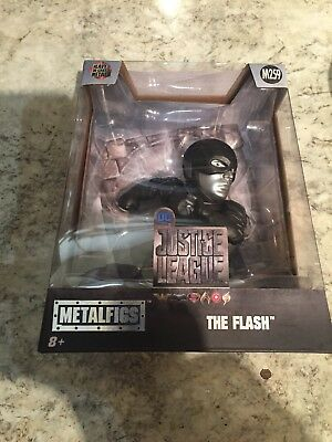 DC Justice League : The Flash Chrome Metalfig #M259 - New