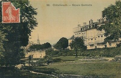 CPA - France - (86) Vienne - Chatellerault - Square Gambetta