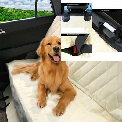 Pet Car Seat Cover Waterproof, Scratch Proof, Nonslip Backing, Hammock Style SUV