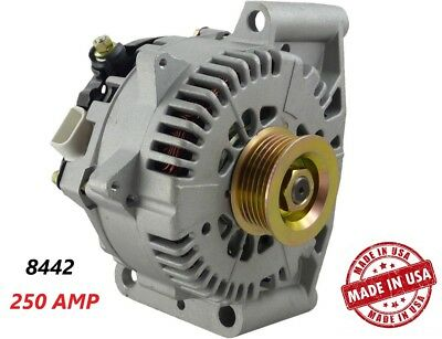 250 AMP 8442 Alternator Ford Mercury High Output Performance HD USA