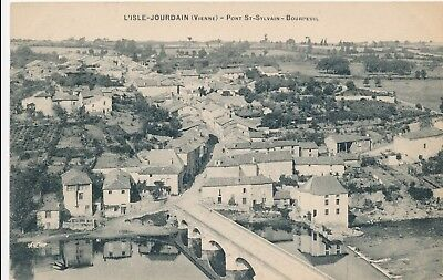 CP - France - (86) Vienne - Jaunay-Clan - Pont St-Sylvain-Bourpeuil