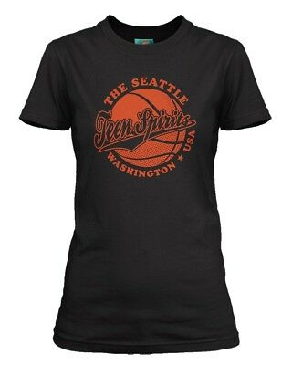 NIRVANA inspired SMELLS LIKE TEEN SPIRIT Basketball, Women's T-Shirt