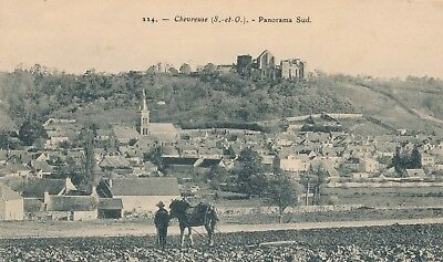 CPA - France - (78) Yvelines - Chevreuse - Panorama Sud