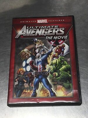 Ultimate Avengers: The Movie (DVD) Free Shipping