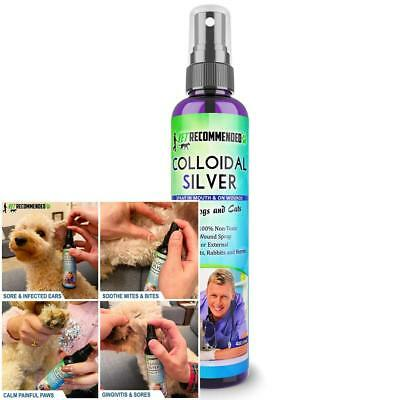 Colloidal Silver for Dogs & Cats - HOT SPOT spray - Cuts/Burns/Insect Bites