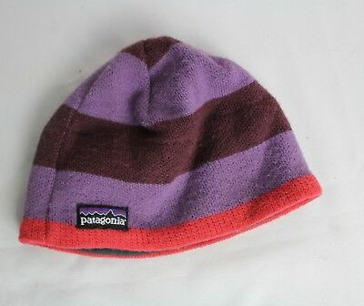 PATAGONIA PURPLE BEANIE Winter Hat Unisex One Size Made in USA ... aaa4f168a94c