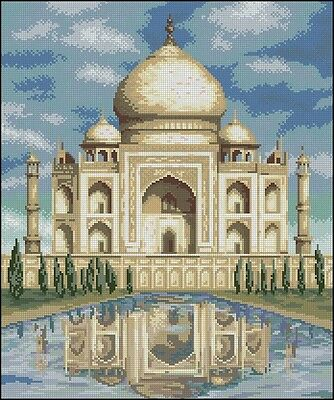 Taj Mahal - Cross Stitch Chart