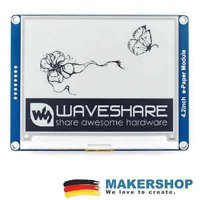 "Waveshare 4,2"" E-Ink Modul 400x300 E-Paper Display SPI LCD Arduino Raspberry Pi"
