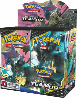 Pokemon Sun and Moon Booster Team Up Pack New Sealed - 1x Booster Pack In Stock!