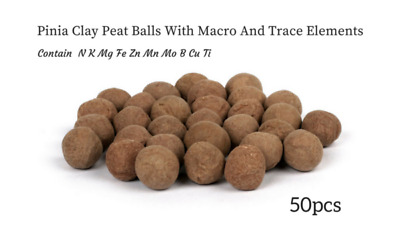 Pinia Clay Peat Balls Root Nutrient Aquatics Plants Macro Micro Fertilizer Tabs
