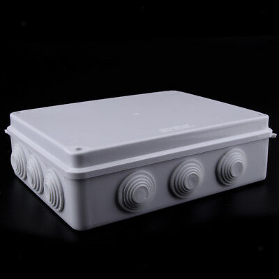 ABS Electronic Square Enclosure Plastic Case Screw Junction Box Waterproof