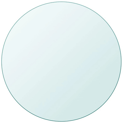 vidaXL Table Top Glass Clear Tempered Replacement Protection Cover 11 Sizes