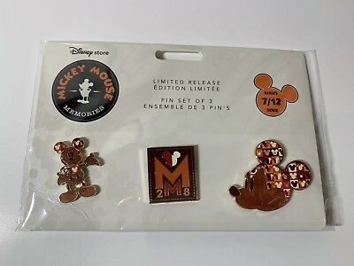 2018 Disney Mickey Mouse Memories - July Limited Edition Pin Set Series 7/12