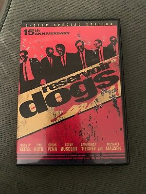 2-disc Special Edition 15th Anniversary Reservoir Dogs Dvd