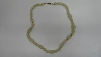 Old String Vintage Polished Jade Beads