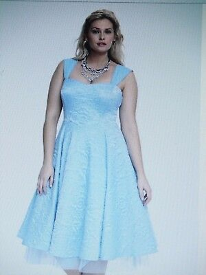 76ee0660114 Disney CINDERELLA Blue Corset Prom Party DRESS Ball Gown Hot Topic 26 NEW  TAGS