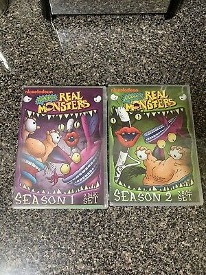 Aaahh Real Monsters Season 1 and 2 New DVD Free Shipping