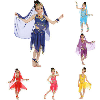eb5353ea2 Toddler Girl Belly Dance Dress Costumes Kids Belly Dancing Egypt Dance  Clothes