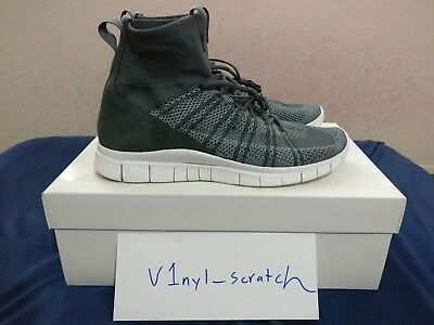 b5a53ac89c08 Nike HTM Free Mercurial Superfly SP 667978-009 Men s Dark Grey Gray Size 11