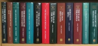 JRR Tolkien The History of Middle-earth complete hardcover edition 13 volumes