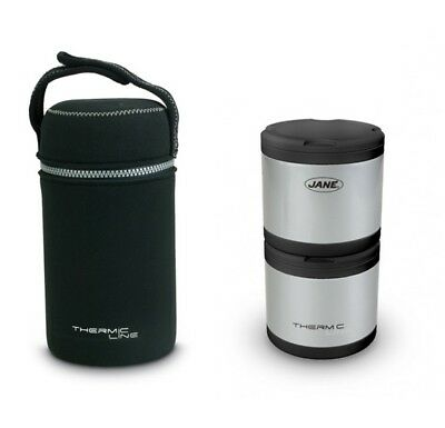 Thermos Pappa Jané Thermic Line in acciaio 2pz 500 c.c.