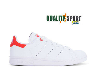 new product 6d6ca 130c6 Adidas Stan Smith Love Rosso Scarpe Donna Shoes Sportive Sneakers G27631  2019