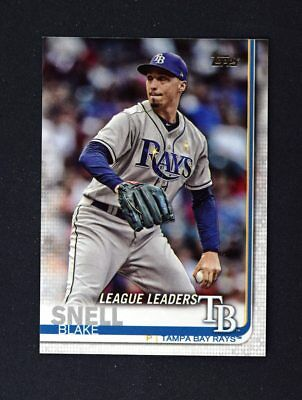 2019 Topps Series 1 Base #24 Blake Snell - Tampa Bay Rays LL