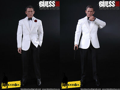 """BLACKBOX TOYS 1:6 Guess Me Series /""""007 Spectre The Day Of The Dead/"""" Shoes"""