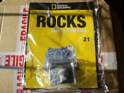 National Geographic Precious Rocks Gems & Minerals Magazine Issue 21 Sodalite