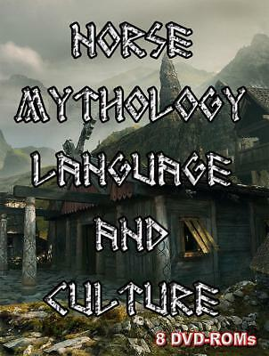 15% off! Norse Mythology, Language and Culture - 8 DVD-ROM boxed digital library