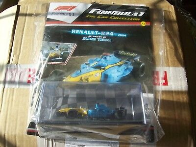 Formula 1 The Car Collection Part 73 Renault R24 2004 Jarno Trulli