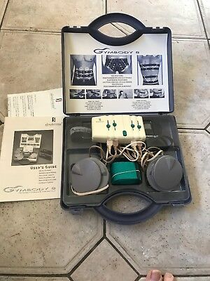 Unisex Slendertone  Gymbody 8  Abs Stomach Bottom  Fwo In Case  With Manual