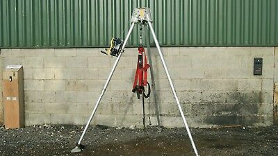 Abtech Confined Space Rescure Tripod and 15m AB15RT Fall Arrest Retriever.