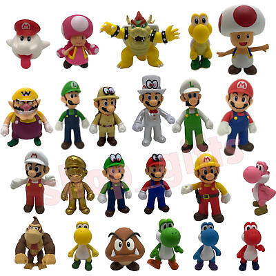 New Super Mario Bros. Odyssey Action Figure PVC Plastic Doll Toy Collectible