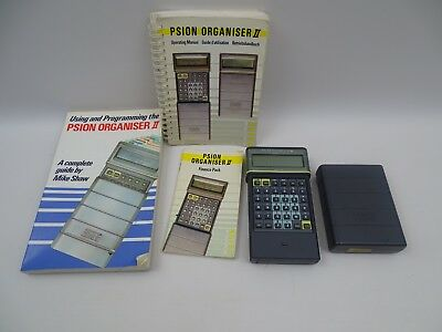 Psion Organiser II Model CM & Instruction Manuals Finance Pack Read Condition