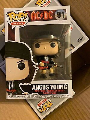 Rocks AC//DC ANGUS YOUNG Vinyl figure #91 Ballbreaker Salute You Funko Pop