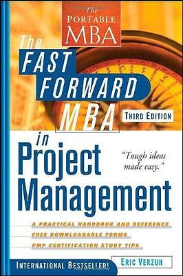 ** Brand New ** - ERIC VERZUH - The Fast Forward MBA in Project Management