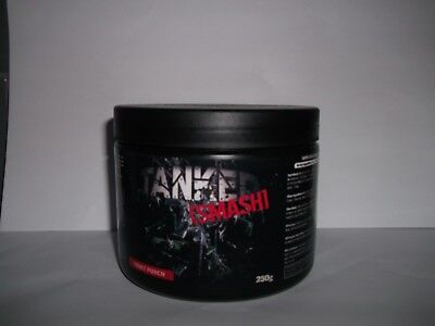 Tanked Smash Pre-Workout/Fruit Punch 50 Strong Servings Bnib