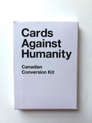 Discontinued--Extremely Rare--Cards Against Humanity Canadian Conversion Pack