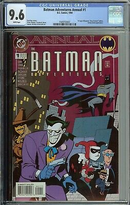 Batman Adventures Annual #1 Cgc 9.6 3Rd App Harley Quinn 1994 1St Roxy Rocket