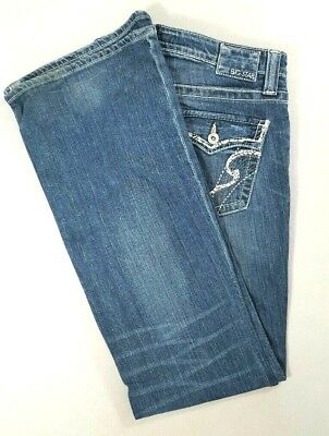 a4764c56abd BIG STAR The Buckle Womens MADDIE Mid Rise Boot Cut Jeans Medium Wash Size  31 R