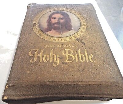 HOLY BIBLE, CLARIFIED King of Kings Ed  (KJV), 1961 Consolidated Book  Publishers